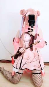 [少女映画]幻想金瓶梅-春梅-COS高清写真合集下载[22P]